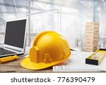 business engineer contractor... | Shutterstock . vector #776390479