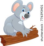 cute koala cartoon | Shutterstock . vector #776393401