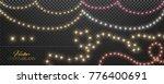 Christmas Lights Set  Colored...