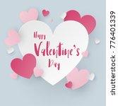 valentine scene background....   Shutterstock .eps vector #776401339