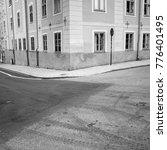 Small photo of Street corner in Uppsala, Sweden