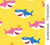 Baby Shark Seamless Pattern...