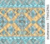 geometric ethnic tribal pattern ... | Shutterstock .eps vector #776412961