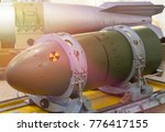 nuclear weapons  chemical... | Shutterstock . vector #776417155