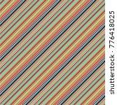 colorful seamless  diagonal... | Shutterstock .eps vector #776418025