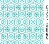 christmas pattern. winter... | Shutterstock .eps vector #776422291