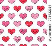 seamless pattern of cute... | Shutterstock .eps vector #776422399