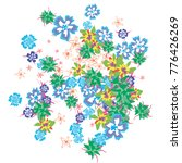 cute floral background for... | Shutterstock .eps vector #776426269