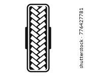 tread pattern icon. simple... | Shutterstock .eps vector #776427781
