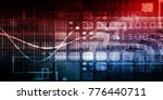 disruptive technology and... | Shutterstock . vector #776440711