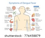 symptoms of dengue fever... | Shutterstock .eps vector #776458879