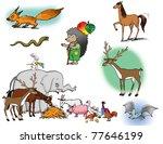 raster illustrations of... | Shutterstock . vector #77646199