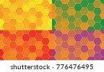 set of seamless pattern of...   Shutterstock .eps vector #776476495