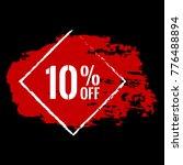 10  off sale discount banner....   Shutterstock .eps vector #776488894