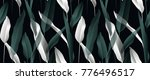 tropical plant seamless pattern ... | Shutterstock .eps vector #776496517