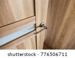 door handle in the interior. ... | Shutterstock . vector #776506711