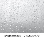 water drop white background | Shutterstock . vector #776508979