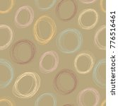 abstract seamless pattern with... | Shutterstock .eps vector #776516461