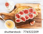 healthy snack from sourdough...   Shutterstock . vector #776522209
