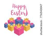 colorful festive vector card...   Shutterstock .eps vector #776543047