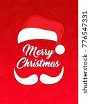 christmas typographic... | Shutterstock . vector #776547331