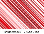 christmas candle  lollipop... | Shutterstock .eps vector #776552455