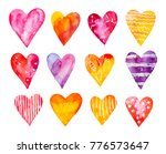 Watercolour Hearts Collection....