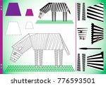 geometric figures in pictures...   Shutterstock .eps vector #776593501