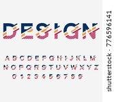 modern abstract  typographic... | Shutterstock .eps vector #776596141