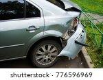 broken car on parking   Shutterstock . vector #776596969