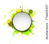 banner blot presentation ... | Shutterstock . vector #776605357