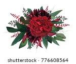 Vector Floral Bouquet Design ...