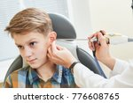 ear  nose  throat examining.... | Shutterstock . vector #776608765