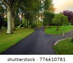 early autumn countryside... | Shutterstock . vector #776610781
