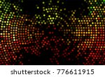 dark green  red vector... | Shutterstock .eps vector #776611915