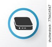 mini pc icon symbol. premium... | Shutterstock .eps vector #776614567