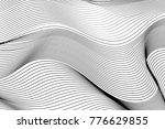 wave lines pattern abstract... | Shutterstock .eps vector #776629855