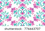 Embroidery Floral Pattern ...