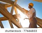 roofer | Shutterstock . vector #77666833