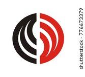 abstract s logo  s logo  cs or... | Shutterstock .eps vector #776673379