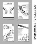 grey pack brochure design... | Shutterstock .eps vector #776683129