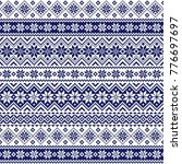 nordic pattern illustration... | Shutterstock .eps vector #776697697