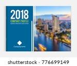 business brochure cover design... | Shutterstock .eps vector #776699149