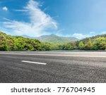 asphalt highway and green... | Shutterstock . vector #776704945