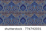 seamless traditional indian... | Shutterstock . vector #776742031