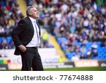 cardiff   april 02  dave jones... | Shutterstock . vector #77674888