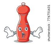 surprised pepper mill character ...   Shutterstock .eps vector #776751631