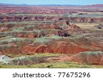 Painted Desert Sits Within The...