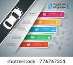 road infographic design... | Shutterstock .eps vector #776767321