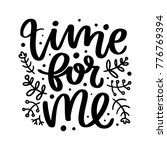 vector poster with phrase and... | Shutterstock .eps vector #776769394